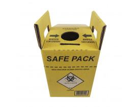 Coletor de Material Perfurocortante 3 litros Papelão