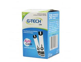 Fita Glicemia G-Tech Lite 50 unidades