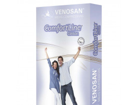 Meia Venosan Comfortline Cotton Panturrilha 20-30 mmHg Longa Tam M