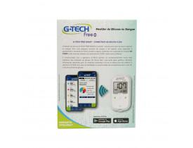 Kit Glicemia G-Tech Free Bluetooth