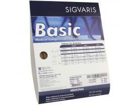 Meia Sigvaris Basic Panturrilha 20-30 mmHg Normal Tam P