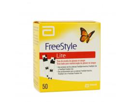 Fita Glicemia FreeStyle Lite com 50 unidades