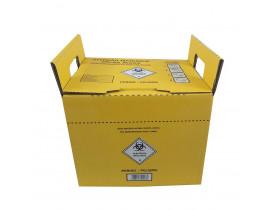 Coletor de Material Perfurocortante 13 litros Papelão