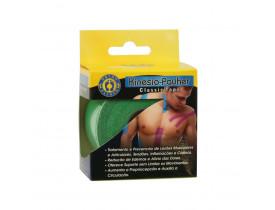 Bandagem KinesioPauher Classic Tape Cor Verde 5cm x 5m