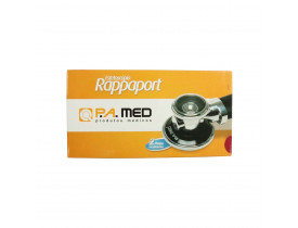 Estetoscópio Rappaport PA MED Cor Vermelho