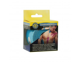 Bandagem KinesioPauher Classic Tape Cor Azul 5cm x 5m