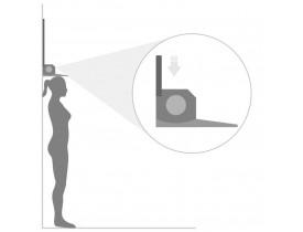 Estadiômetro MD Compacto para Medição de Altura