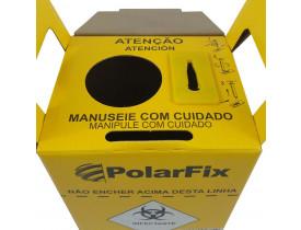 Coletor de Material Perfurocortante 1,5 litros Papelão