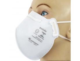 Máscara Respirador Descartável PFF2 Carbografite