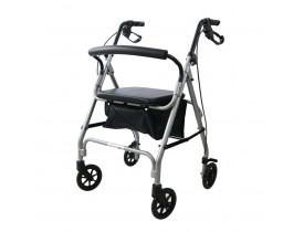 Andador Flex Alumínio 4 rodas