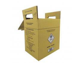 Coletor de Material Perfurocortante 7 litros Papelão