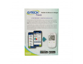 Kit Glicemia G-Tech Free Bluetooth
