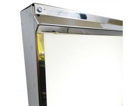 Negatoscópio 1 Corpo Inox 38x50 cm