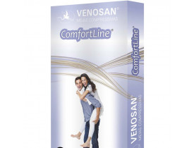 Meia Venosan Comfortline Panturrilha 20-30 mmHg Curta Tam M
