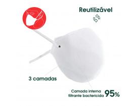 Máscara Semifacial Filtrante Reutilizável PFF2 N95