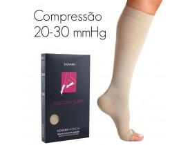 Meia de compressão SIGVARIS ALGODÃO SUPER panturrilha 20-30 mmHg