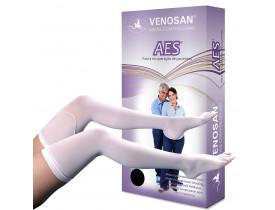 Meia de compressão VENOSAN AES ANTI TROMBOMeia coxa18 mmHg
