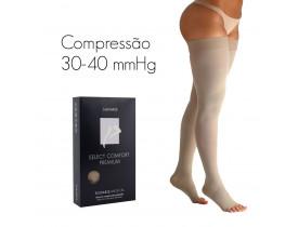 Meia de compressão SIGVARIS SELECT COMFORT PREMIUM Meia Coxa 30-40 mmHg