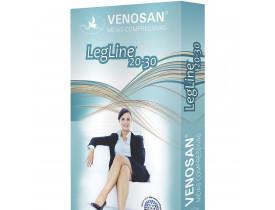 Meia VENOSAN LEGLINE Meia coxa com silicone 20-30 mmHg
